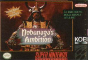 Nobunaga's Ambition sur SNES