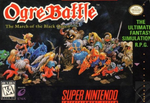 Ogre Battle : The March of the Black Queen sur SNES