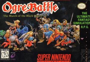 Ogre Battle : The March of the Black Queen sur SNES