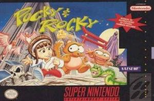 Pocky & Rocky sur SNES