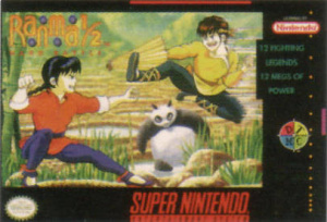 Ranma 1/2 : Hard Battle sur SNES