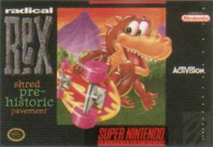 Radical Rex sur SNES