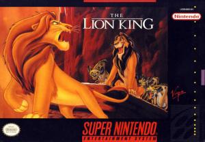 Le Roi Lion sur SNES