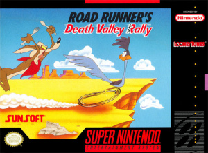 Road Runner's Death Valley Rally sur SNES