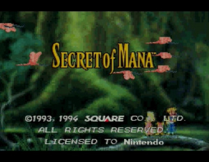 Oldies : Secret of Mana