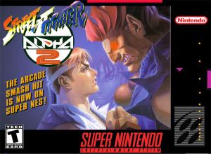 Street Fighter Alpha 2 sur SNES