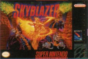 Skyblazer sur SNES