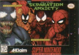 Spider-Man & Venom : Separation Anxiety sur SNES