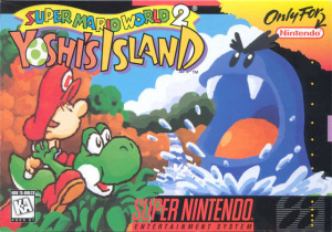 Super Mario World 2 : Yoshi's Island sur SNES