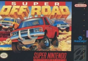 Super Off Road sur SNES
