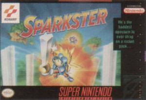Sparkster sur SNES