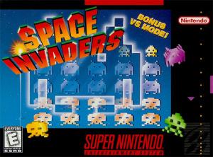 Space Invaders sur SNES