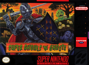 Super Ghouls'n Ghosts sur SNES