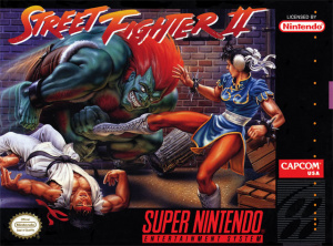 Street Fighter II sur SNES
