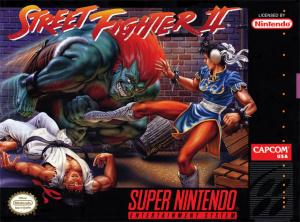 Street Fighter II sur SNES