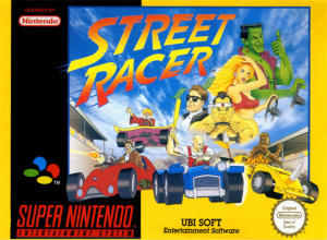 Street Racer sur SNES