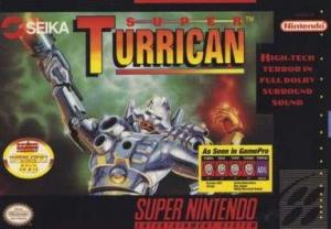 Super Turrican sur SNES