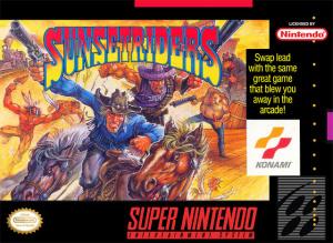 Sunset Riders sur SNES