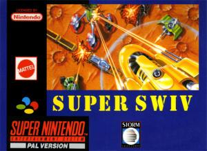 Super SWIV sur SNES