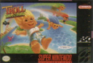 Super Troll Islands sur SNES