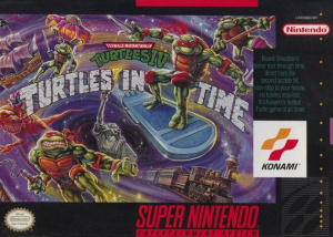 Teenage Mutant Ninja Turtles IV : Turtles in Time sur SNES