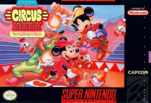 The Great Circus Mystery starring Mickey & Minnie sur SNES