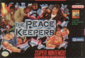 The Peace Keepers sur SNES