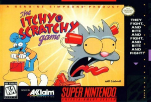 The Itchy & Scratchy Game sur SNES