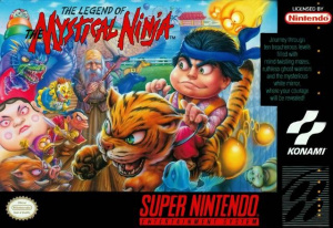 The Legend of the Mystical Ninja sur SNES