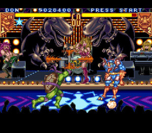 Un remix de TMNT : Tournament Fighters par les Flying Penguins
