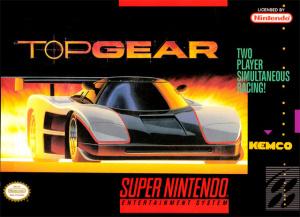 Top Gear sur SNES