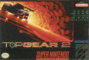 Top Gear 2 sur SNES