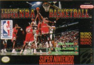 Tecmo Super NBA Basketball sur SNES