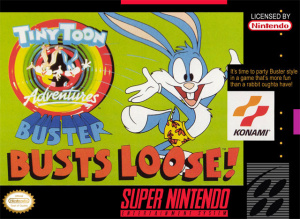 Tiny Toon Adventures : Buster Busts Loose ! sur SNES