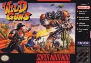 Wild Guns sur SNES