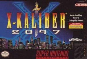 X-Kaliber 2097 sur SNES