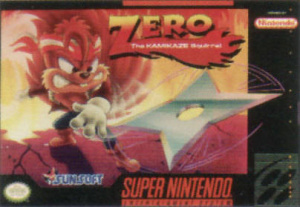 Zero : The Kamikaze Squirrel sur SNES