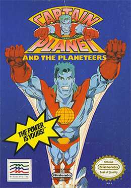 Captain Planet and the Planeteers sur ST