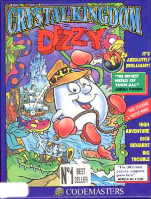 Crystal Kingdom Dizzy sur ST