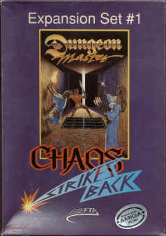 Dungeon Master : Chaos Strikes Back sur ST