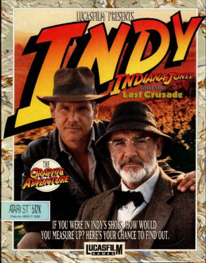 Indiana Jones and the Last Crusade : The Graphic Adventure sur ST