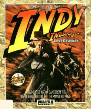 Indiana Jones and the Last Crusade : The Action Game sur ST