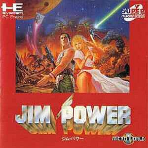 Jim Power in Mutant Planet sur ST