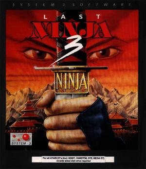Last Ninja 3 : Real Hatred is Timeless sur ST