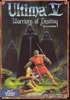 Ultima V : Warriors of Destiny sur ST