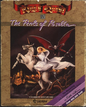 King's Quest IV : The Perils of Rosella sur ST