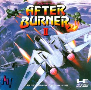 After Burner II sur PC ENG