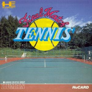 Final Match Tennis sur PC ENG