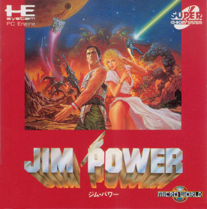 Jim Power in Mutant Planet sur PC ENG