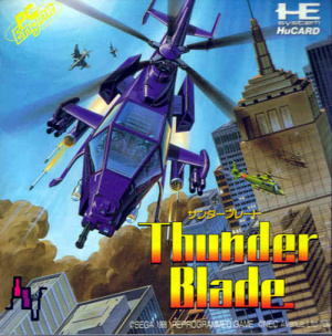Thunder Blade sur PC ENG